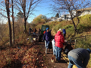 Brownstone Trail Workday