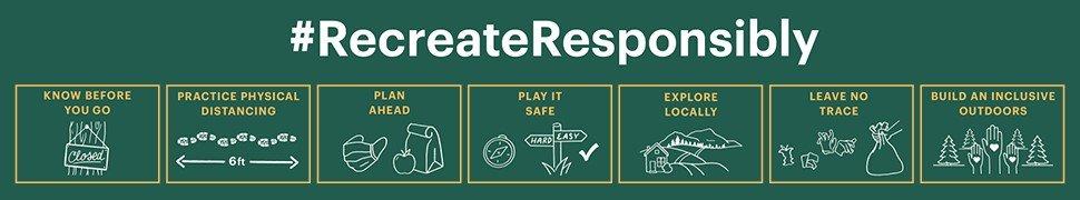 Recreate Responsibly 7 Step Process Diagram