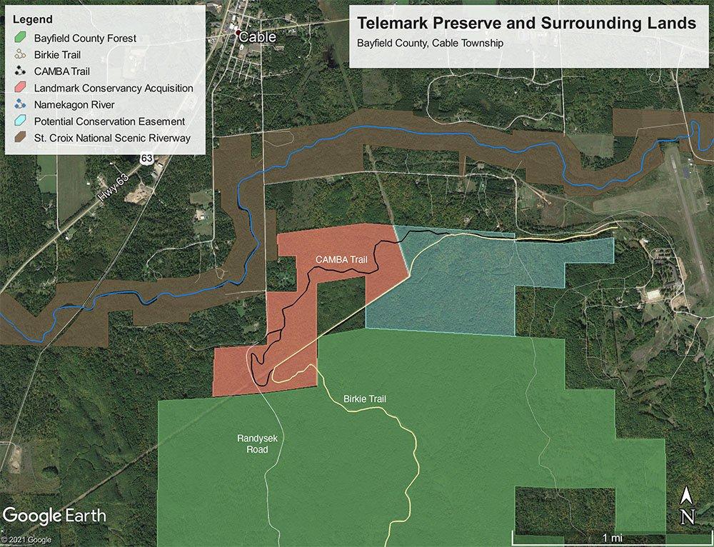 Landmark Conservancy Telemark Acquisition